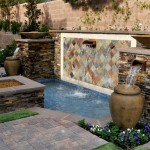 Chip N Dales for Mediterranean Landscape with Water Feature
