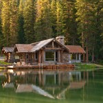 Chippewa Ranch Camp for Rustic Exterior with Landscape