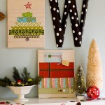 Christmas Pictures Ideas for Eclectic Living Room with Christmas Decorations