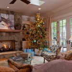 Christmas Pictures Ideas for Traditional Living Room with Sofa