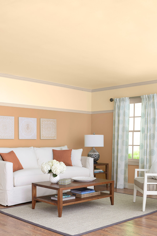 Cincinnatian Hotel for Transitional Living Room with Beige