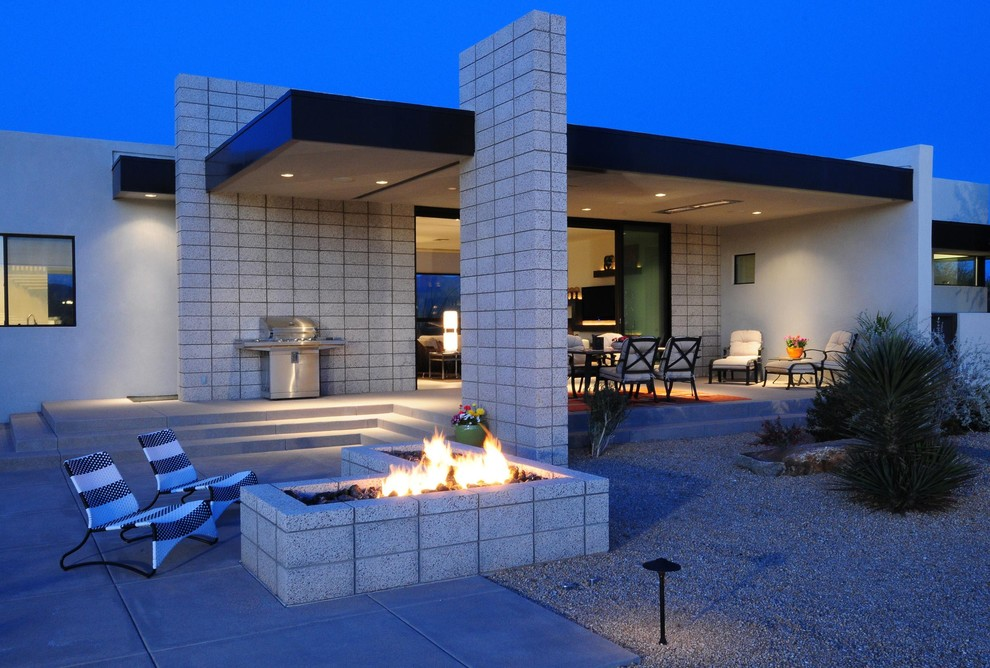 Cinder Block Dimensions for Contemporary Patio with Concrete Masonry Unit
