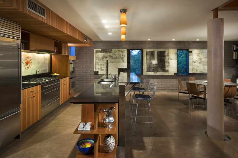 Cinder Block Wall for Industrial Kitchen with Andy Byrnes