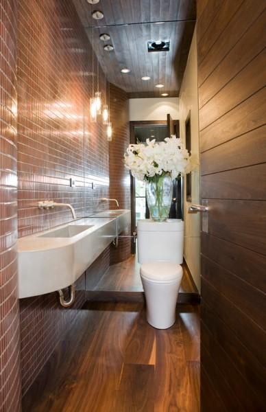 City Floral Denver for Contemporary Bathroom with Wall Mounted Faucet