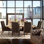 City Floral Denver for Contemporary Dining Room with City View