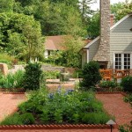 Clary Sage Tulsa for Traditional Landscape with Path