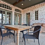 Clary Sage Tulsa for Traditional Patio with Glass Panel Doors