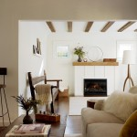 Classical Kusc for Rustic Living Room with White