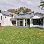 Clearstory for Farmhouse Exterior with Gravel