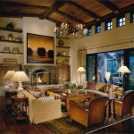 Clearstory for Mediterranean Living Room with Beige Wall