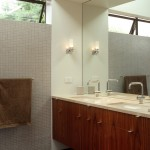 Clearstory for Modern Bathroom with Undermount Sinks