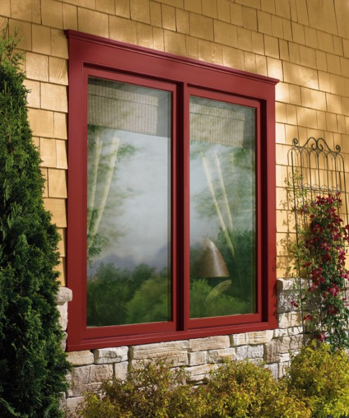 Clearview Windows for Traditional Exterior with Marvin Windows