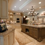 Clive Christian Kitchen for Traditional Kitchen with Brown Kitchen Island