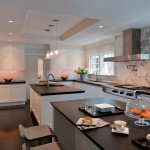 Cob Homes for Contemporary Kitchen with Black Countertops