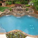 Cobb County Tractor for Traditional Pool with Arbor