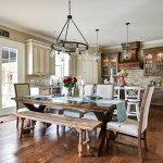 Cobblestone Homes for Traditional Dining Room with Copper Hood