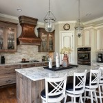 Cobblestone Homes for Traditional Kitchen with Cabinet Lighting