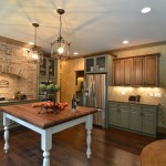 Cobblestone Homes for Traditional Kitchen with Cooktop