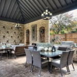 Cobblestone Homes for Traditional Patio with Covered Patio