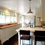 Cocoa Couture for Contemporary Kitchen with White Cabinet