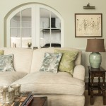 Colefax and Fowler for Traditional Living Room with Rug