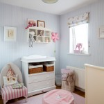 Colefax and Fowler for Traditional Nursery with Changing Tables