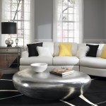 Colleton River Plantation for Contemporary Living Room with Metallic Coffee Table