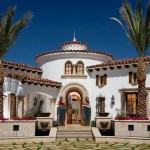 Colonial Parking Dc for Mediterranean Exterior with Curved