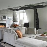 Colt Industries for Contemporary Living Room with Hanging Bench