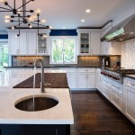 Colt Industries for Transitional Kitchen with Black White Kitchen