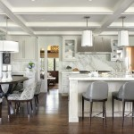 Conaway Homes for Transitional Kitchen with Custom Hood