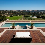 Concord Pools for Contemporary Pool with Mountains