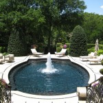 Concord Pools for Traditional Pool with Outdoor Seating