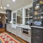 Conestoga Cabinets for Traditional Kitchen with Kilim Rug
