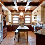 Conestoga Cabinets for Traditional Kitchen with Two Tone Cabinets