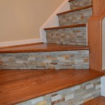 Conestoga Tile for Eclectic Staircase with Tile on Riser