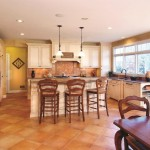 Conestoga Tile for Traditional Kitchen with Recessed Lighting