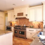 Conestoga Tile for Traditional Kitchen with White Cabinets