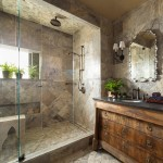 Conestoga Tile for Transitional Bathroom with Walk in Shower