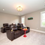 Coopers Lake for Transitional Home Theater with New Homes in Smyrna