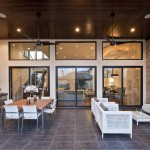 Copenhagen Furniture Austin for Transitional Patio with Recessed Lighting