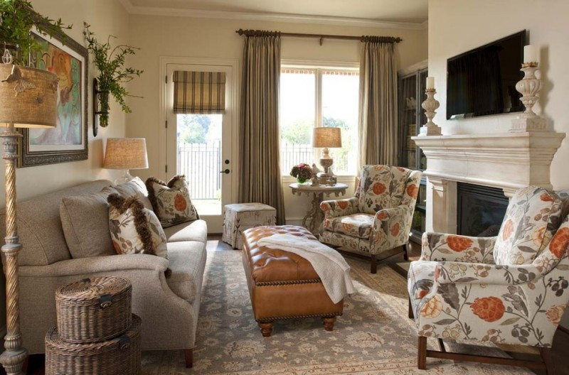 Copper Beech Townhomes for Traditional Living Room with Throw