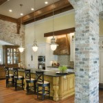 Copper Kettle Nashville for Traditional Kitchen with Painted Wood Island