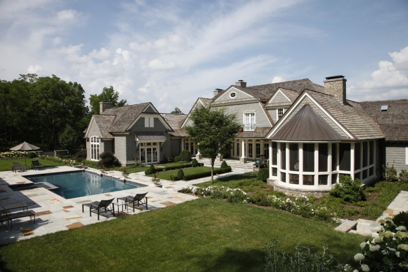 Copper Kettle Nashville for Traditional Landscape with Pool