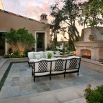 Cort Clearance Furniture for Mediterranean Patio with Outdoor Fireplace
