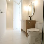 Corvallis Furniture for Contemporary Spaces with Porcelain Tile