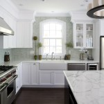 Cost to Refinish Hardwood Floors for Traditional Kitchen with Tile Kitchen Backsplash
