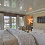 Cost to Remove Popcorn Ceiling for Beach Style Bedroom with Wall Art