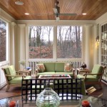 Cost to Remove Popcorn Ceiling for Traditional Porch with Recessed Lights