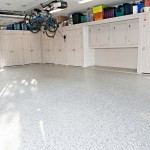 Cost to Remove Popcorn Ceiling for Traditional Spaces with Epoxy Garage